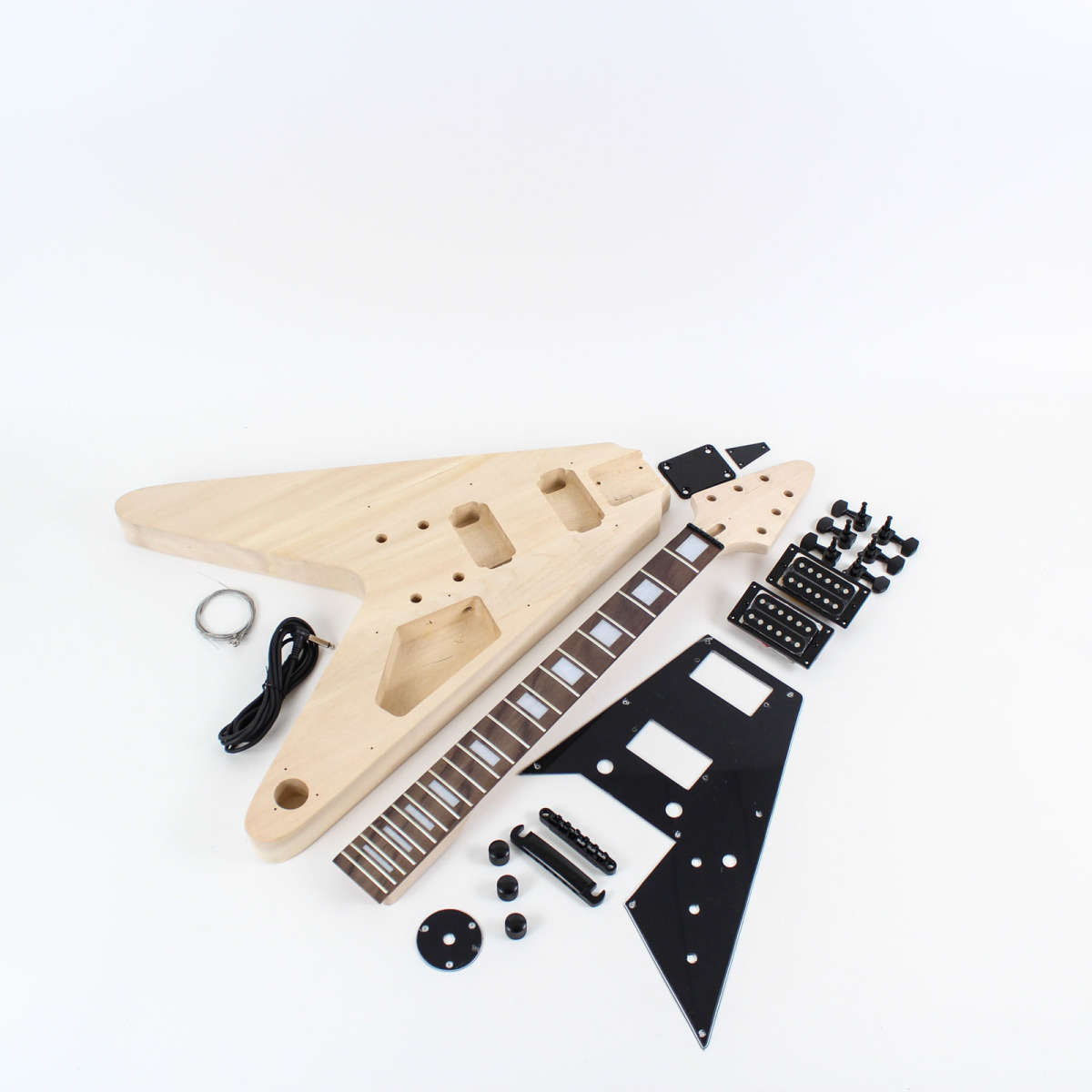 gibson flying v style guitar kit diy guitars. Black Bedroom Furniture Sets. Home Design Ideas