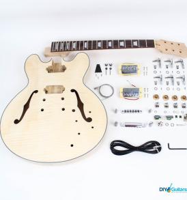 gibson-335-diy-electric-guitar-kit-chrome-11