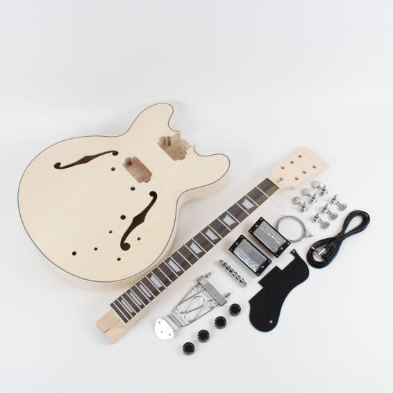 gibson es 335 style semi hollow diy guitars