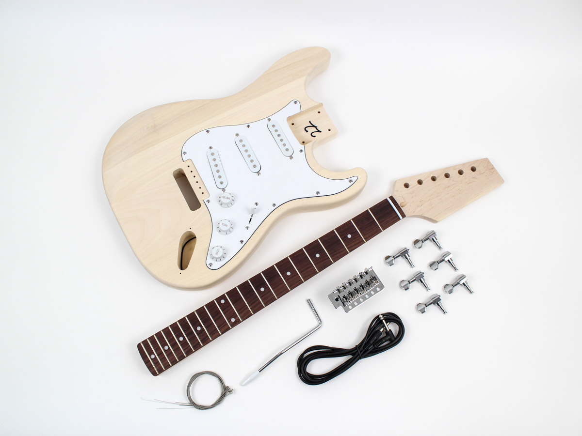 Fender Stratocaster guitar kit - FST-20