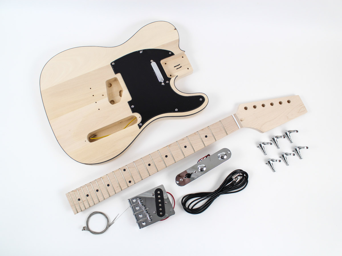 Fender Telecaster Guitar Kit Maple Fingerboard