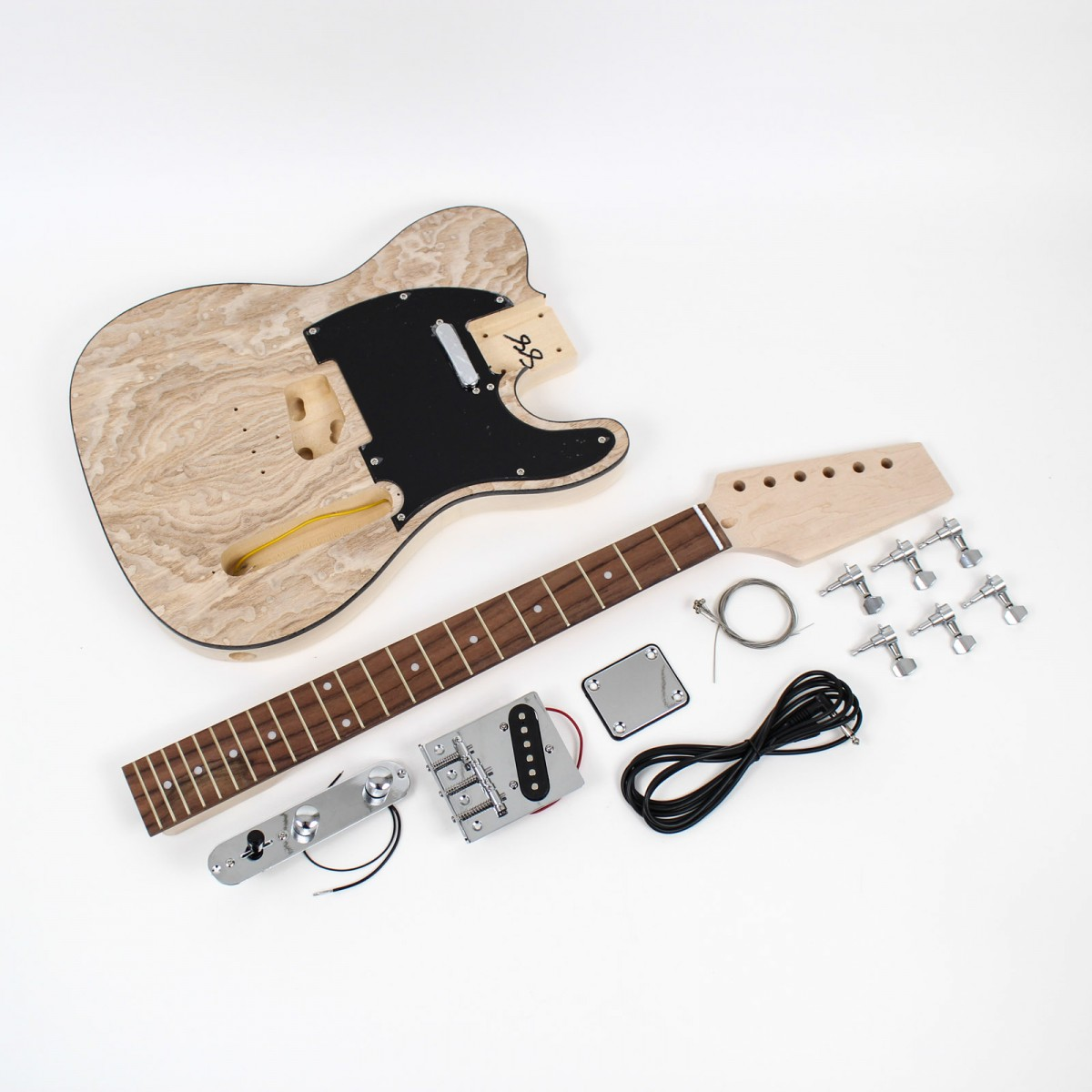 telecaster style guitar kit ash diy guitars. Black Bedroom Furniture Sets. Home Design Ideas