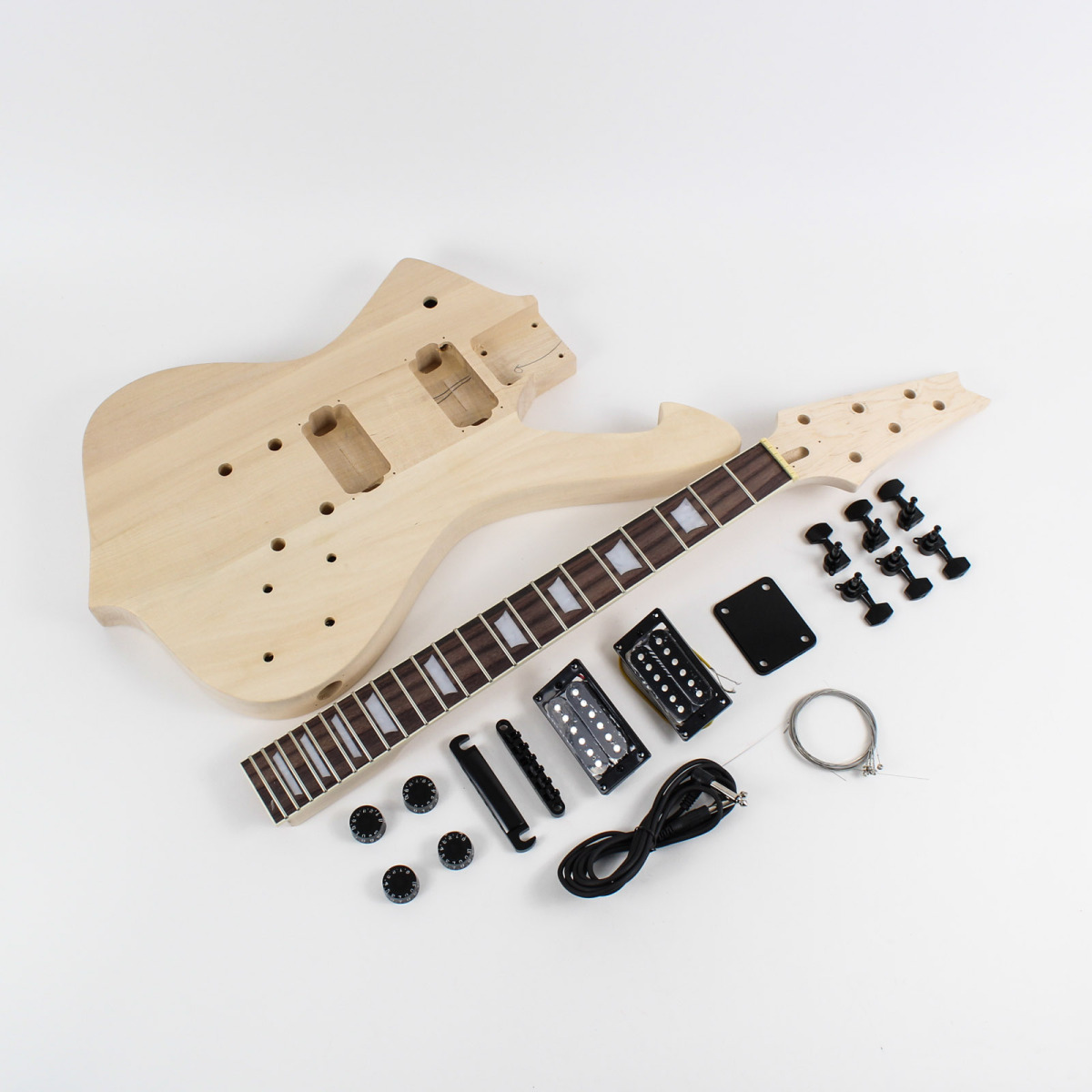 ibanez iceman style guitar kit diy guitars. Black Bedroom Furniture Sets. Home Design Ideas
