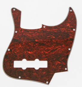 Fender Jazz Bass pickguard red tortiseshell
