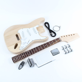 Fender Stratocaster style DIY electric guitar kit