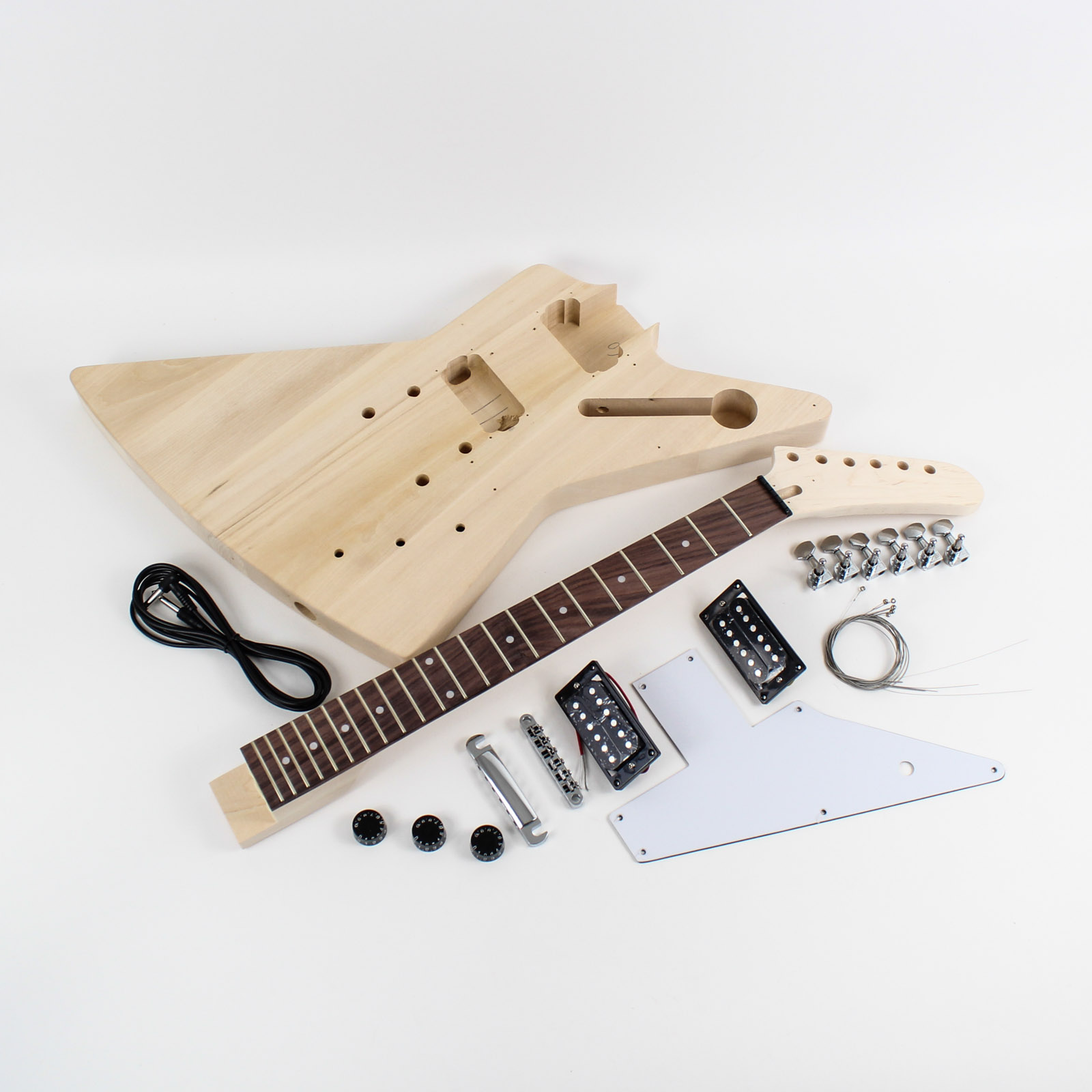 gibson explorer guitar kit diy guitars. Black Bedroom Furniture Sets. Home Design Ideas