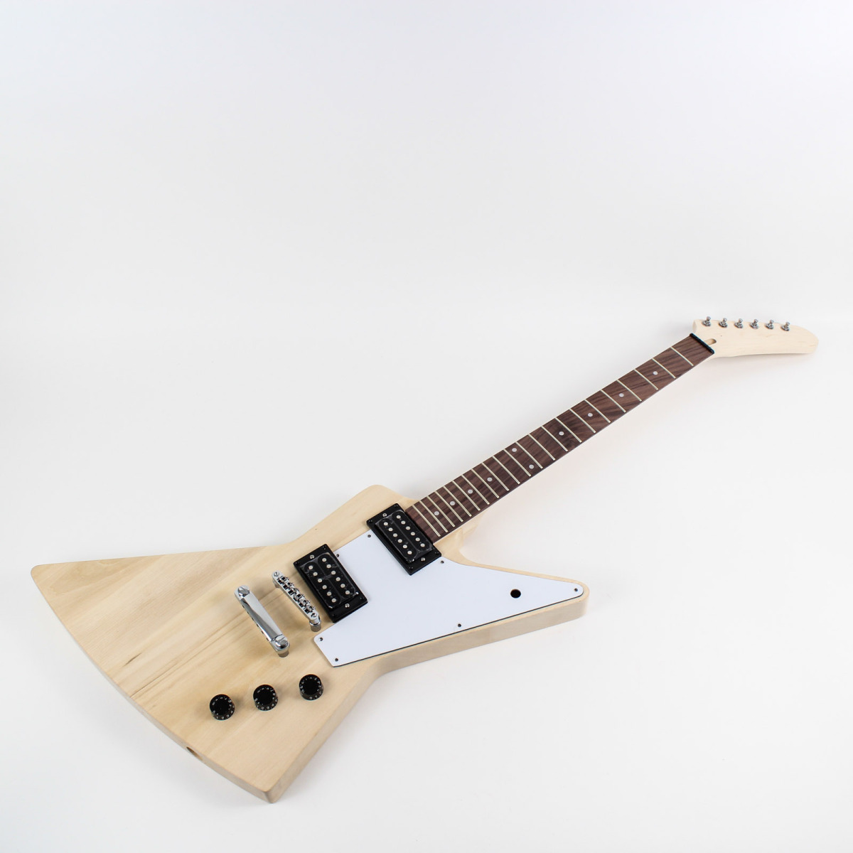 gibson explorer guitar kit left handed diy guitars. Black Bedroom Furniture Sets. Home Design Ideas