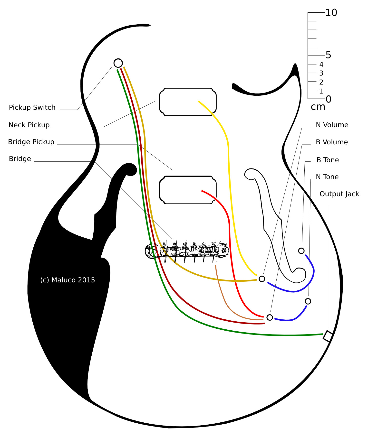 wiring diagram 1 volume 2 tone images humbucker 1 volume 11 samick b guitar two tone one volume wiring schematic