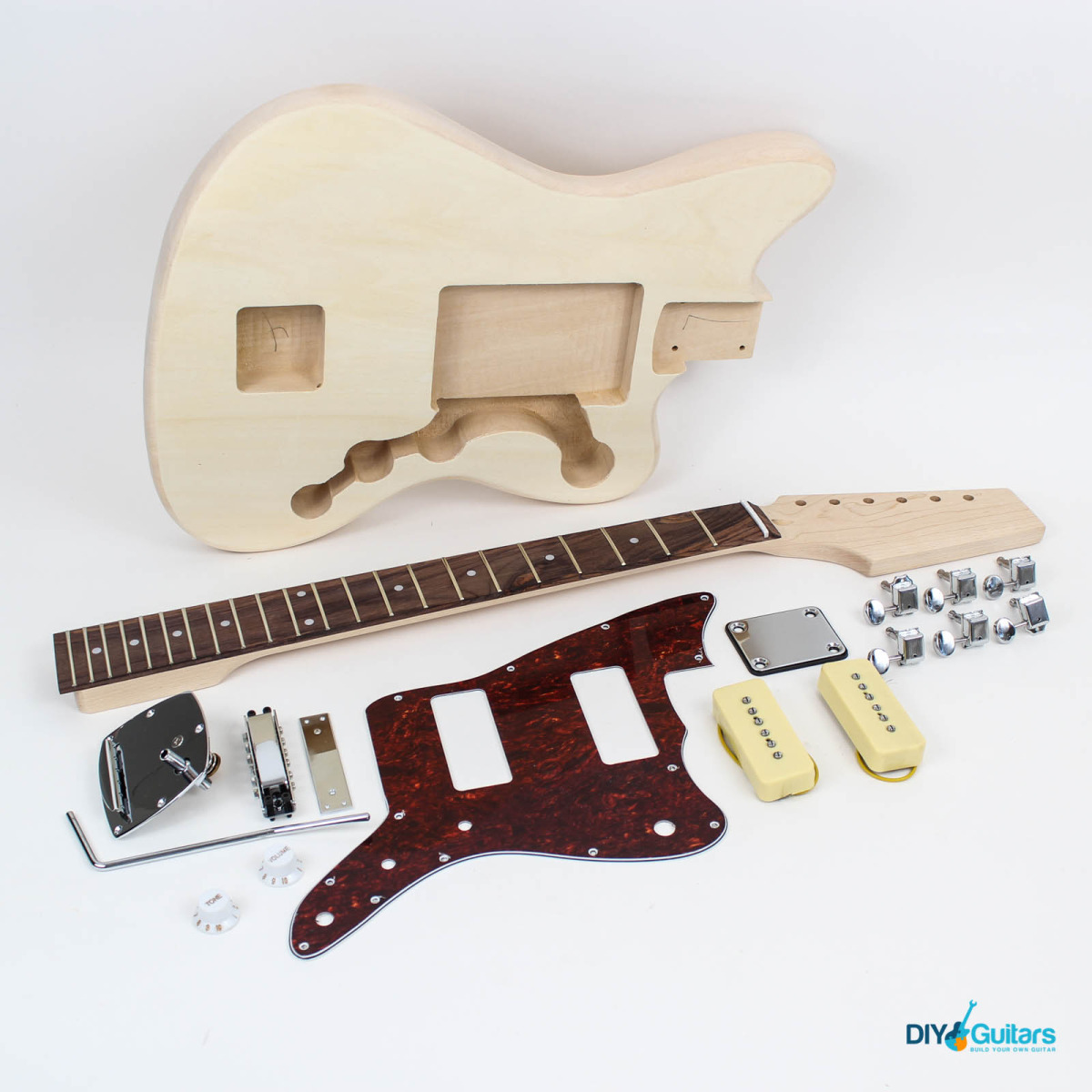 Jazzmaster style guitar kit diy guitars main components solutioingenieria Gallery