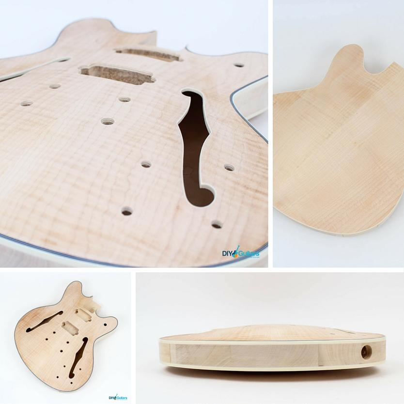 Fender Starcaster DIY Guitar Kit Body