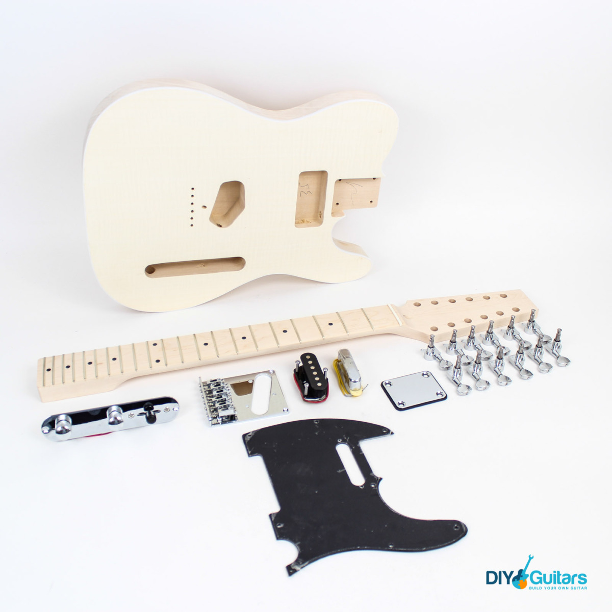 12 String Telecaster Style Guitar Kit Diy Guitars Wiring Kits Electronics Parts Sold Out Main Components