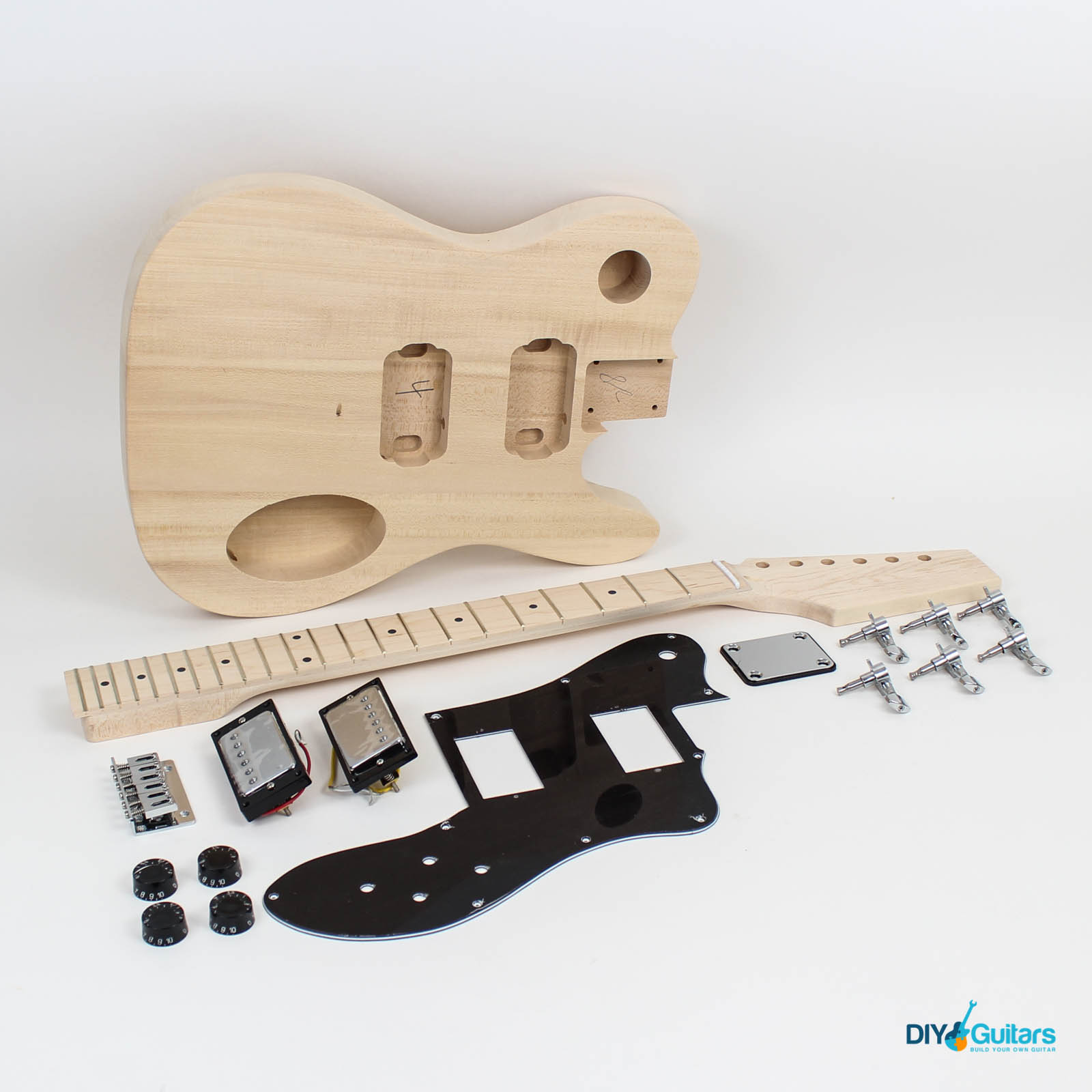 telecaster deluxe style guitar kit diy guitars. Black Bedroom Furniture Sets. Home Design Ideas