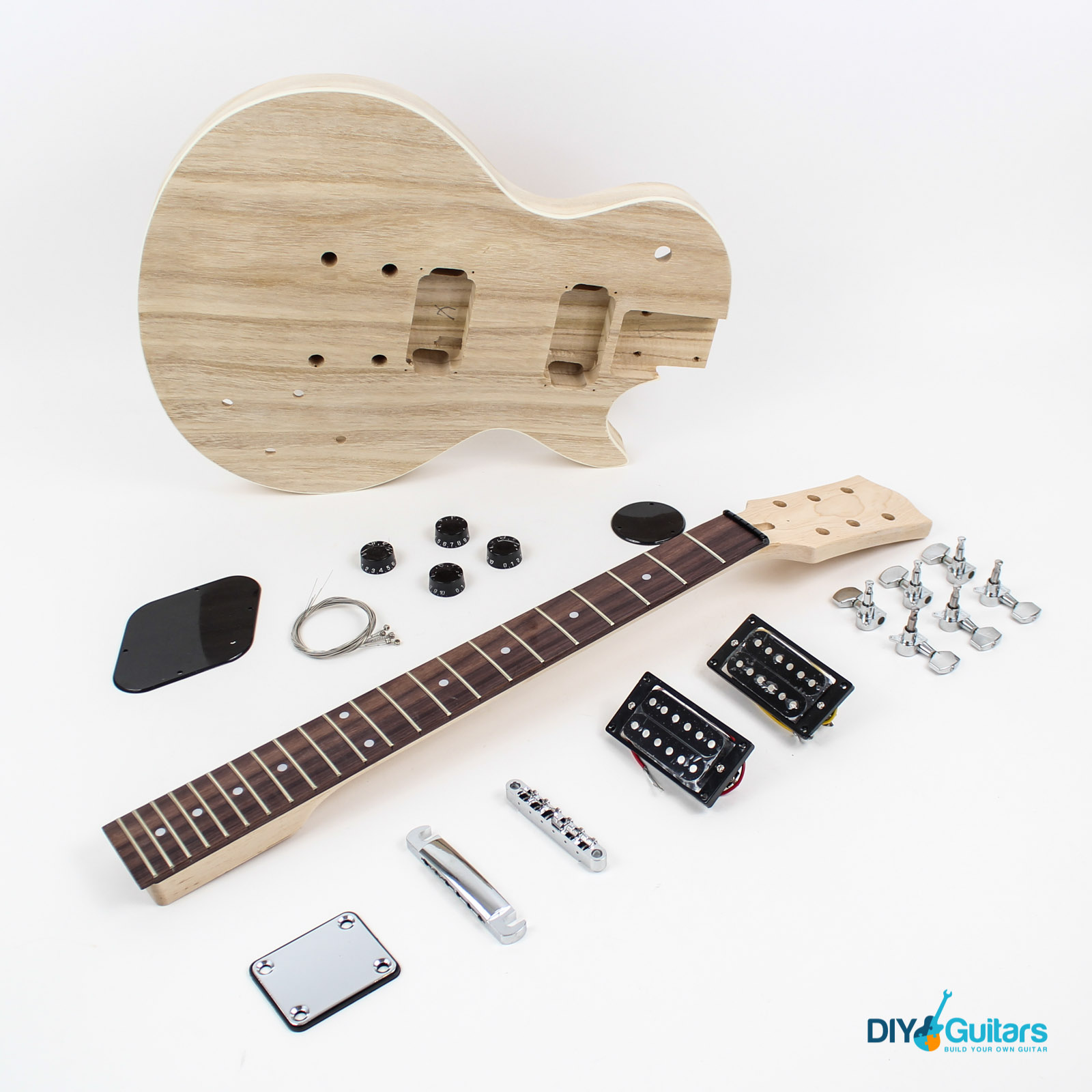 Gibson style guitar kits diy guitars main components solutioingenieria Image collections