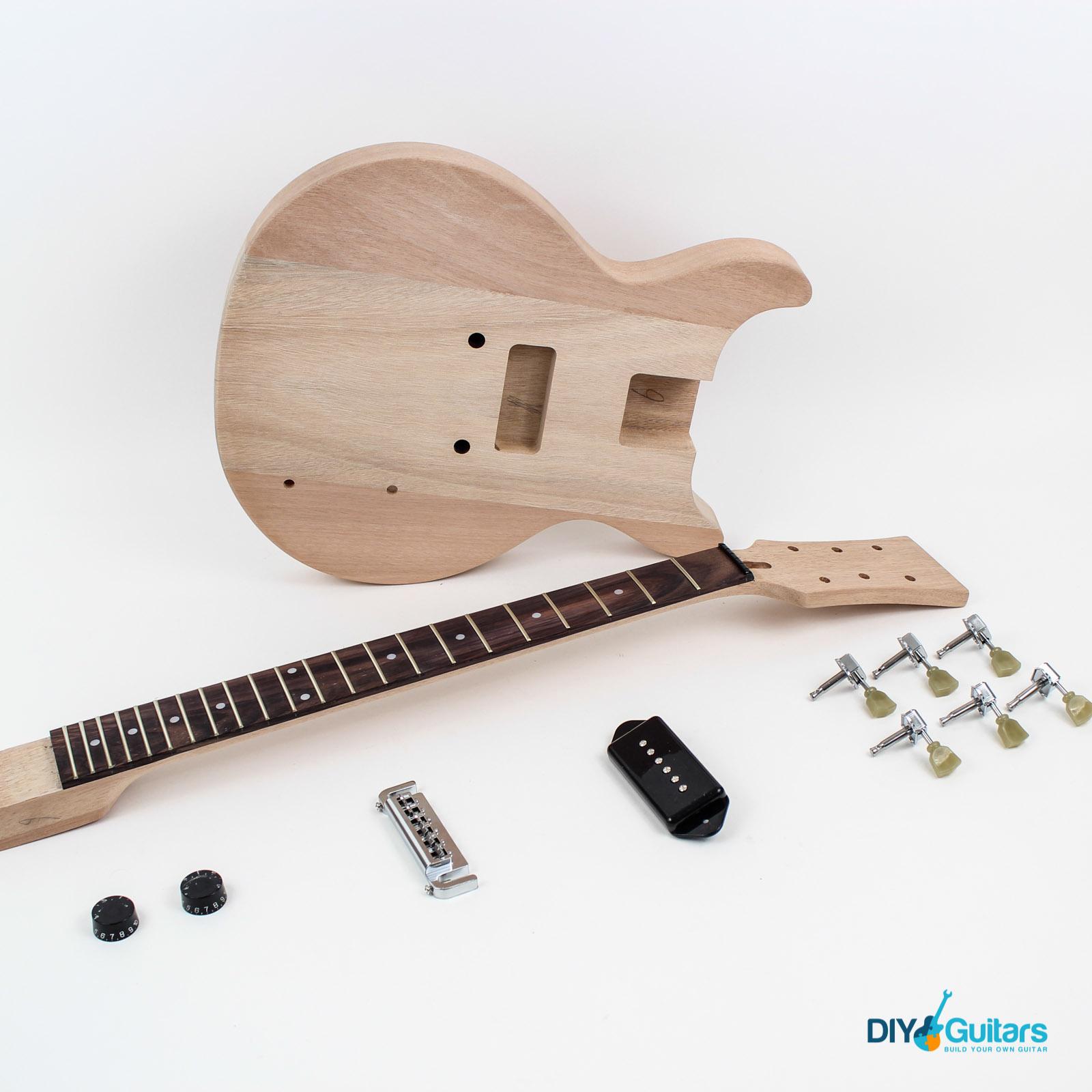 Gibson Les Paul JR Style Double Cutaway DIY Guitar Kit