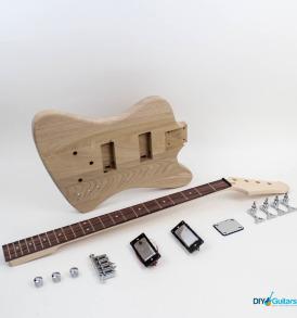 Gibson Thunderbird DIY Electric Bass Kit main components