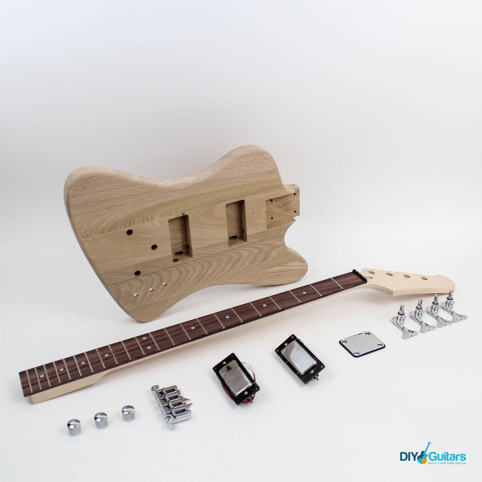 Bass guitar kits diyguitars gibson thunderbird diy electric bass kit main components solutioingenieria Choice Image
