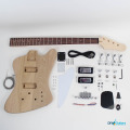 Gibson Thunderbird DIY Electric Bass Kit full kit contents