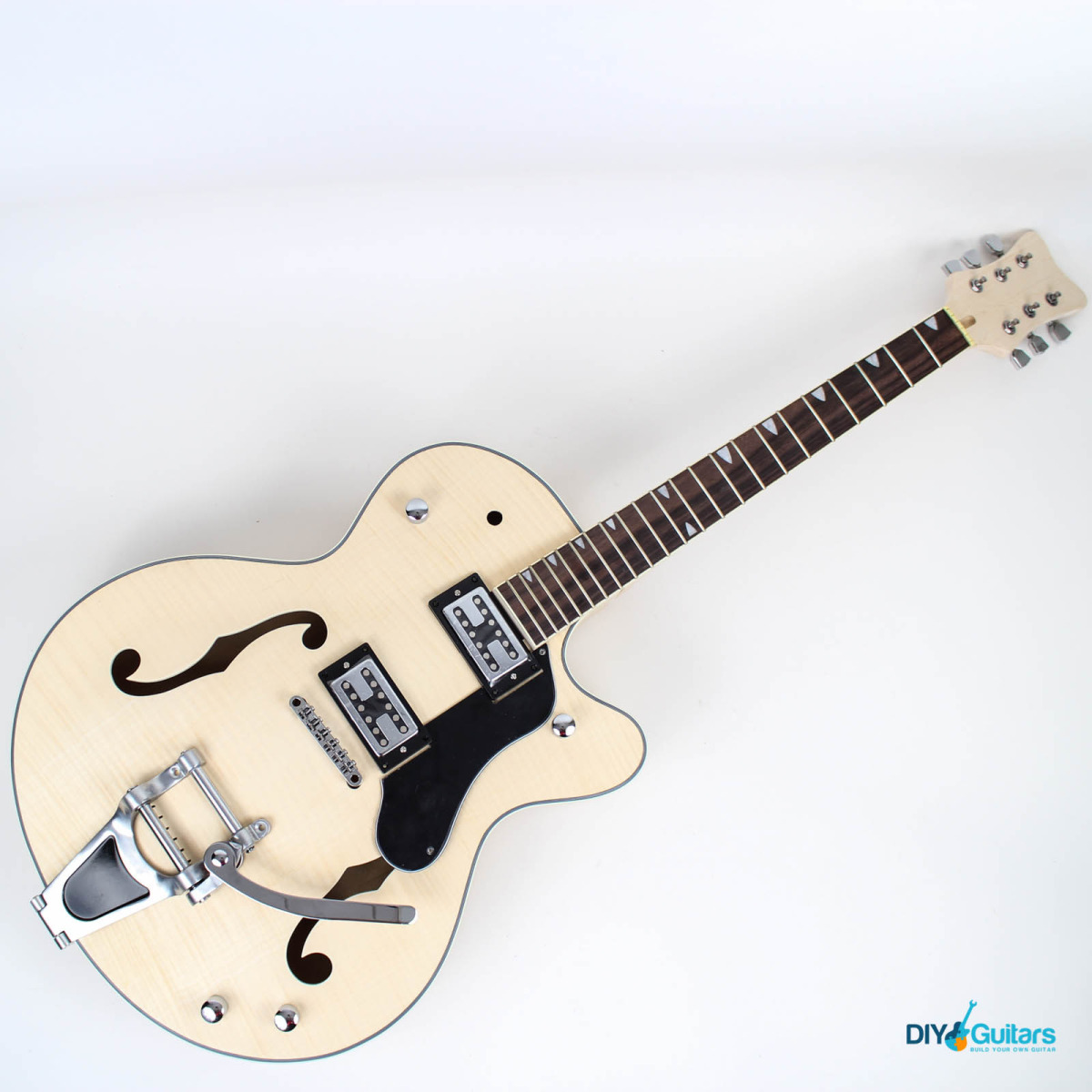 Gretsch style hollow body diy guitars main components main components in place solutioingenieria Image collections