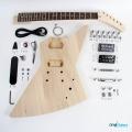 Gibson Explorer DIY Electric Guitar Kit full kit contents