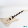 Gibson Explorer DIY Electric Guitar Kit main components in place
