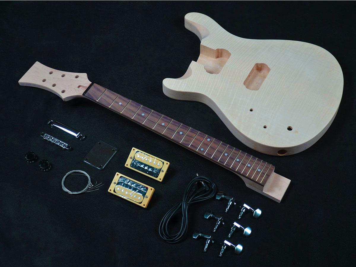 prs styled lefty guitar kit diy guitars. Black Bedroom Furniture Sets. Home Design Ideas