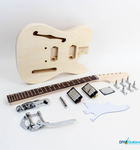 Fender Telecaster Thinline Bigsby Rosewood Fretboard - Chrome Hardware