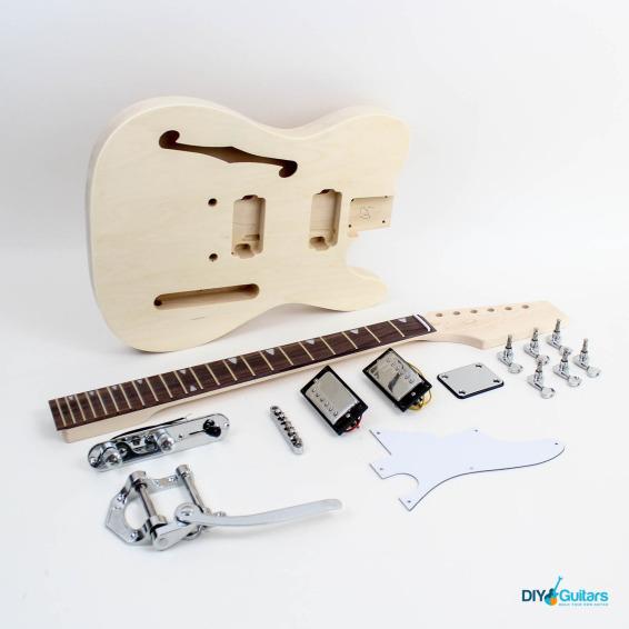 Fender Telecaster Thinline Bigsby Rosewood Fretboard - Chrome Hardware