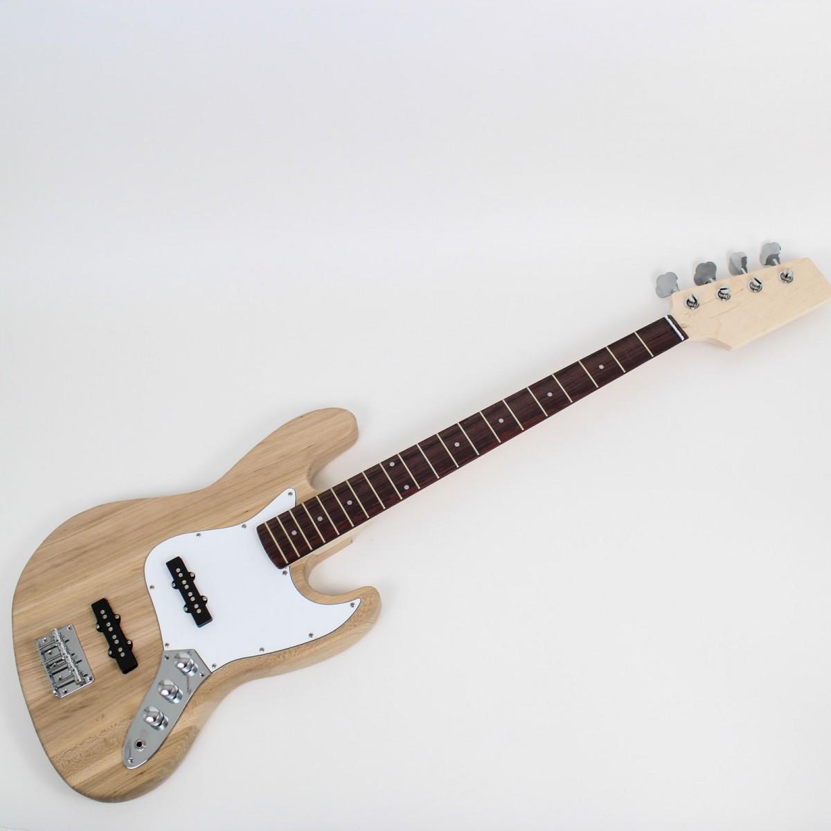 jazz bass style guitar kit ash body diy guitars. Black Bedroom Furniture Sets. Home Design Ideas