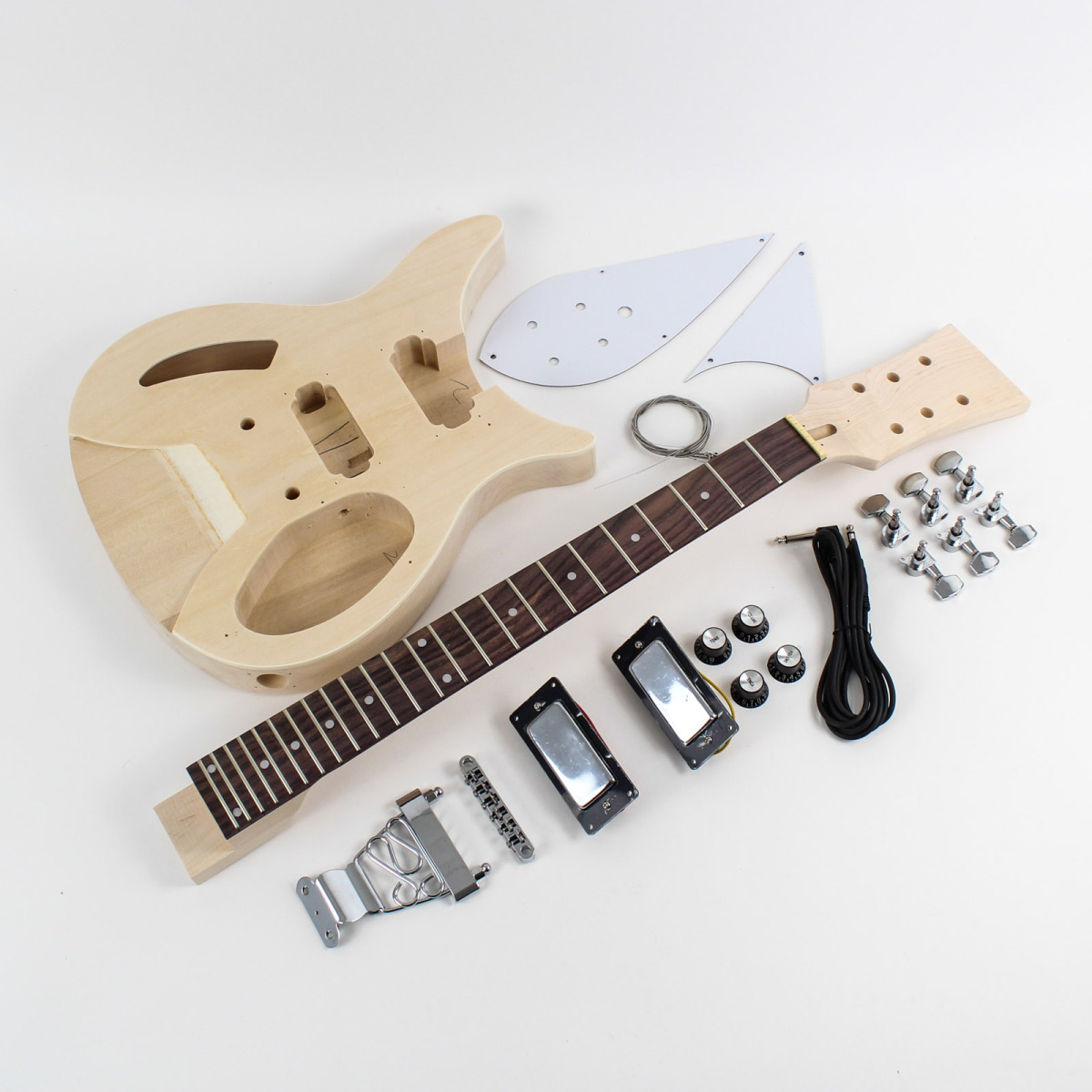 Design Your Own Kit Home Rickenbacker Style Semi Hollow Diy Guitars