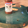 Example of finished guitar with Tru Oil
