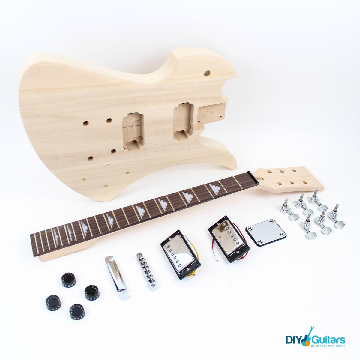 richbird diy guitar kit diy guitars. Black Bedroom Furniture Sets. Home Design Ideas
